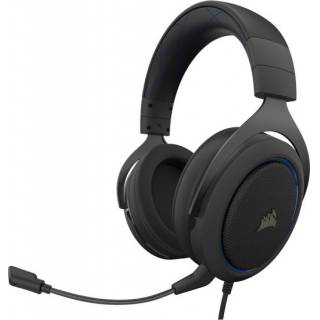 Corsair HS60 Pro Surround Cuffie con microfono PC/PS4/XboxOne/Mobile Carbon