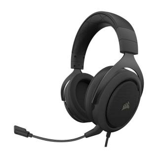 Corsair HS50 PRO Stereo Cuffie con Microfono PC/PS4/XboxOne/Mobile Carbon