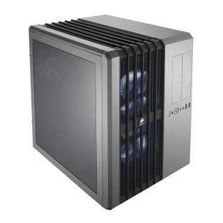 Corsair CC-9011034-WLED Carbide AIR 540 Case Cubo Silver LED Bianco No-Power m-ATX/m-ITX/ATX/e-ATX