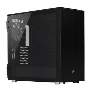 Corsair Carbide 678C Middle Tower Vetro temperato No-Power Mini-ITX/mATX/ATX/E-ATX Nero