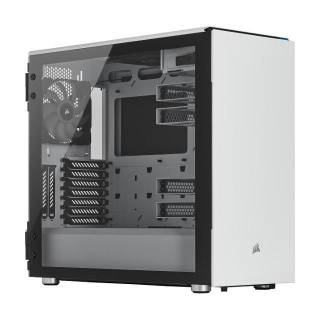 Corsair Carbide 678C Middle Tower Vetro Temperato No-Power minITX/mATX/ATX/E-ATX Bianco