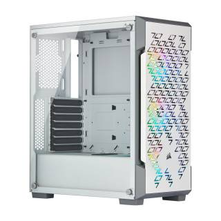Corsair Smart Case 220T iCUE Middle Tower Vetro Temperato minITX/mATX/ATX Bianco