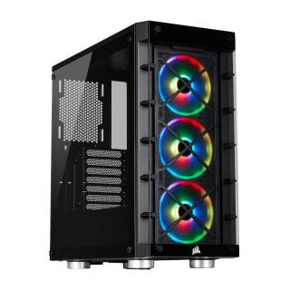 Corsair iCUE 465X RGB Middle Tower No-Power Mini ITX/mATX/ATX