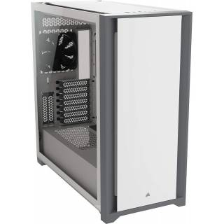 Corsair 5000D Middle Tower Vetro Temperato No Power minITX/mATX/ATX Bianco