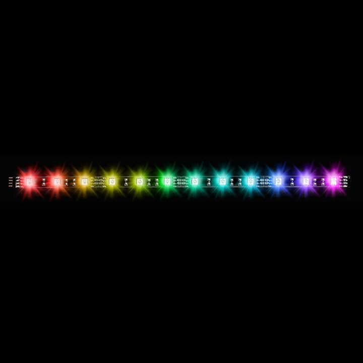 Thermaltake LED STRIP LUMI RGB 3 PACK 16.8M COLORI  & SW CTRL & MAGNETICA