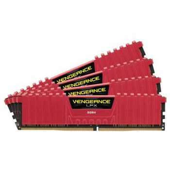 Corsair CMK16GX4M4A2800C16R Vengeance 16GB Kit 4*4GB DDR4 - 2800MHz CL16 1.2v Low Profile