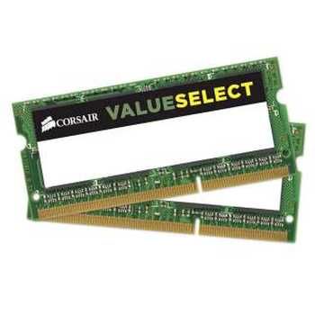 Corsair CMSO8GX3M2C1600C11 8GB (2x4GB) SoDDR3L - 1600 Value Select CAS11
