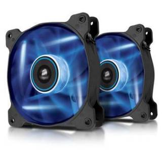 Corsair AF120 Kit Ventola Quiet Edition 120 Led Blu Twin Pack