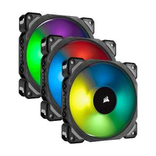 Corsair Ventola ML120 RGB iCUE PWM Kit + Lighting Node PRO 120mm