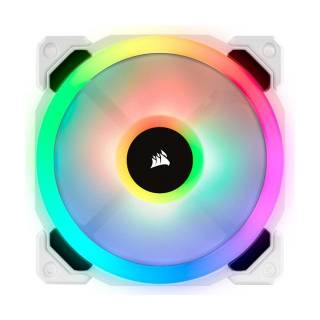 Corsair LL120 RGB iCUE Dual Light Ventola PWM 120 Bianco