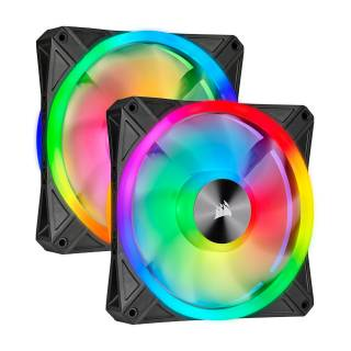 Corsair iCUE QL140 ARGB PWM Dual Fan 140mm