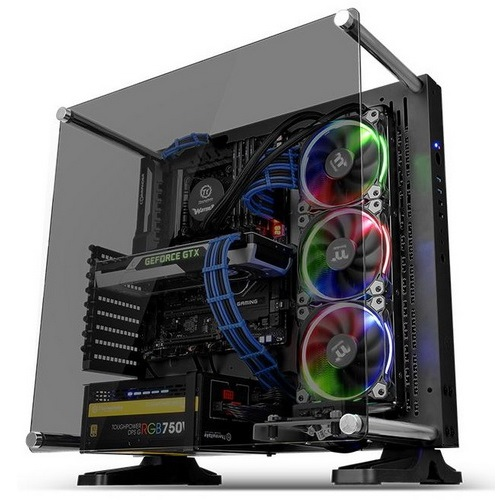 Thermaltake Case Middle Tower CORE P3 TG BLACK CA-1G4-00M1WN-06