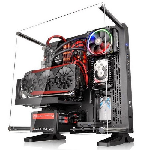 THERMALTAKE CASE MID.T CORE P3 ATX WALL-MOUNT