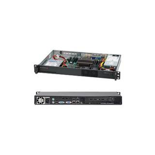 Supermicro 510L-200B SuperChassis Mini 1U 1*3,5'' 200w supporto Intel Xeon 3000 Series Nero