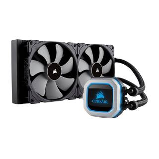 Corsair Hydro H100i Pro RGB CPU Liquid Cooler Intel 1151/1200/2066 AMD AM4/AM3