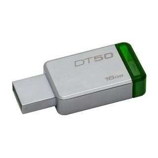 Kingston DataTraveler 50 Chiavetta USB 16GB USB3.0 Verde/Argento