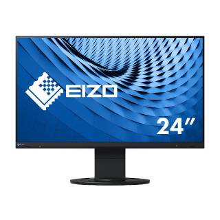 Eizo FlexScan EV2460 Monitor 23.8 60Hz IPS FullHD 5ms Multimediale Pivot USB3.1 VGA/DVI/HDMI/DP