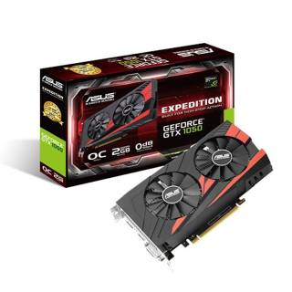 Asus Expedition GeForce GTX 1050 OC 2GB GDDR5 DVI/HDMI/DP PCi Ex 3.0 16x