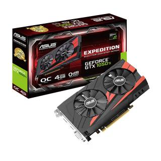 Asus Expedition GeForce GTX 1050 Ti OC 4GB GDDR5 DVI / HDMI / DP PCi Ex 3.0 16x