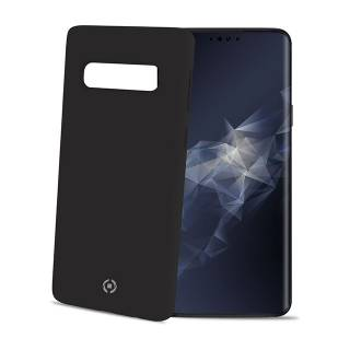 Celly Feeling Cover Galaxy S10 Nero