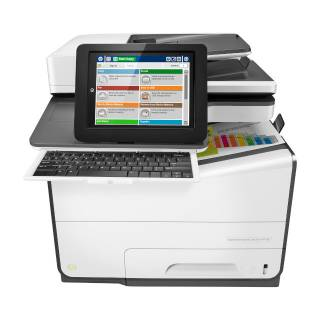 HP PageWide Enterprise Color Flow 586z Multifunzione Ink-Jet a Colori Stampa/Copia/Scan/Fax A4 GLAN 50ppm