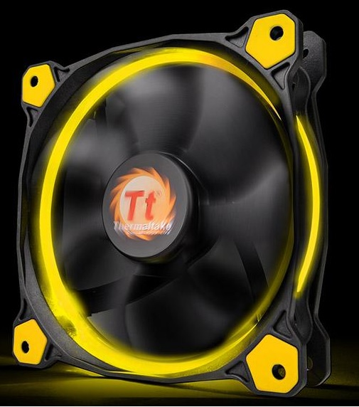 THERMALTAKE VENTOLA CASE RIING 12 YELLOW