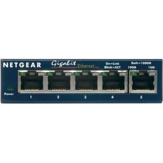 Netgear GS105GE Switch ProSafe Plus Gigabit Ethernet 10/100/1000Mbps 5 porte