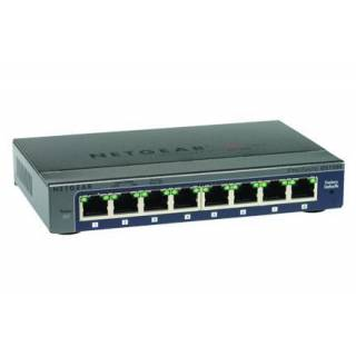 Netgear GS108E-300PES ProSafe Plus Switch Gigabit Ethernet  10/100/1000Mbps 8porte