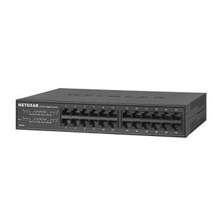 Netgear GS324 SOHO Switch Umanaged Gigabit Ethernet 24*porte Rack