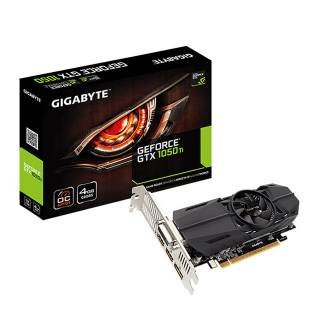 Gigabyte GeForce GTX 1050 Ti OC 4GB GDDR5 DVI/HDMI/DP PCi Ex 3.0 16x