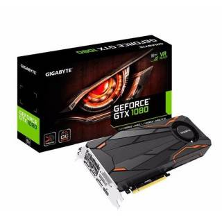Gigabyte GeForce GTX 1080 GV - N1080TTOC - 8GD Turbo OC 8GB GDDR5X DVI / HDMI / 3*DP PCi Ex 3.0 16x