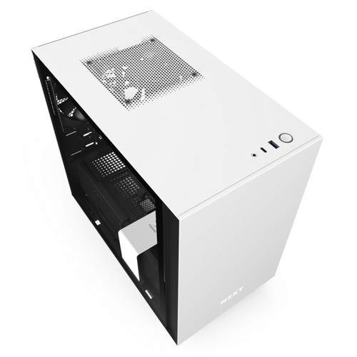 NZXT GAMING Case H210 MINI ITX NERO/BIANCO - 2*120 Aer F