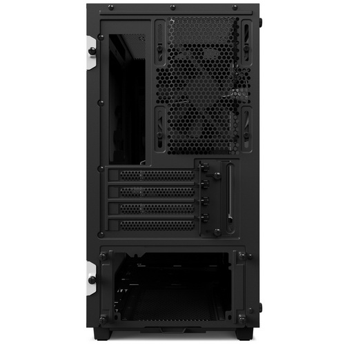 NZXT GAMING CASE H400 MINI ITX E MICRO ATX SMART NERO / ROSSO CA-H400B-BR