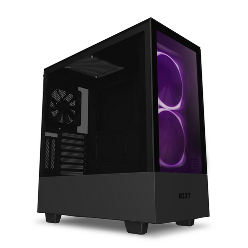 NZXT GAMING Case H510 ELITE COMP.Middle Tower.NERO/NERO -2*140 Aer RGB F-1*LED S.