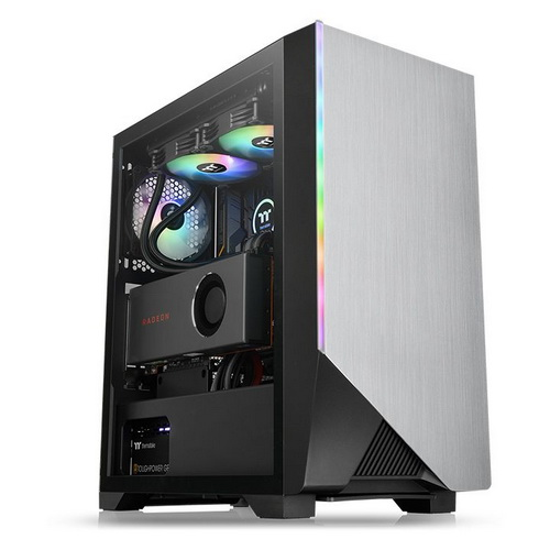 Thermaltake Case Middle Tower H550 TG ARGB 2mm  ALUMINIUM FRONT PANEL ARGB