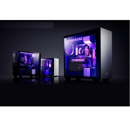 NZXT GAMING Case H700i Middle TowerOWER  NERO/NERO  CA-H700W-BB