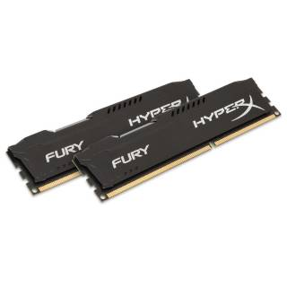Kingston Fury Black 8GB Kit 2*4GB DDR3 1600Mhz C10 1.5v