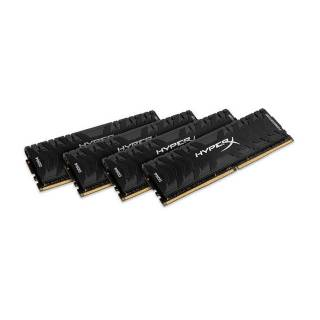 Kingston HyperX Predator Kit 32GB 4x8GB DDR4 2666MHz CL13 Nero