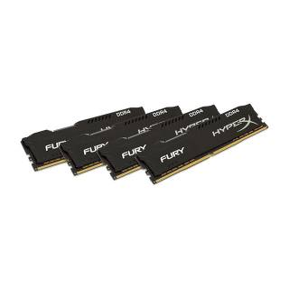 Kingston HyperX Fury 32GB Kit 4x8GB DDR4 2666Mhz CL16