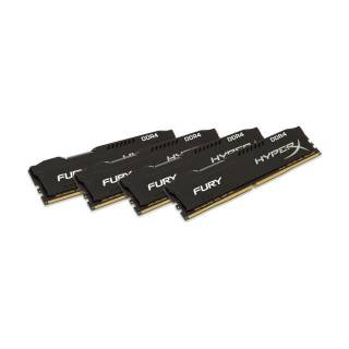 Kingston HyperX Fury Kit 64GB 4x16GB DDR4 2666MHz CL16 Nero