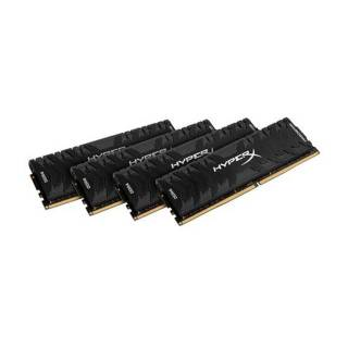 Kingston HyperX Predator 32GB Kit 4x8GB DDR4 3600MHz CL17 Nero