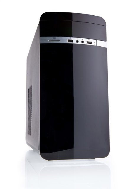 Case OTTO Mini Tower mATX NO PSU, Card Reader - New Concept Design