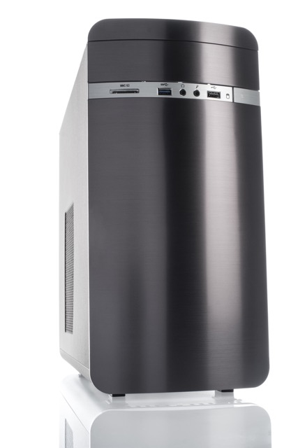 Case OTTO Advanced Mini Tower mATX, USB3, NO PSU, Card Reader - New Concept Design