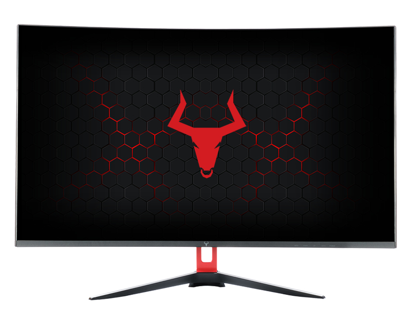 "Monitor TAURUS RESOLUX  - 32"", 2560x1440, IPS, 144Hz, 16:9, 1ms, 350cd, 3000:1, DVI/HDMI/DP, LBL, CURVED"