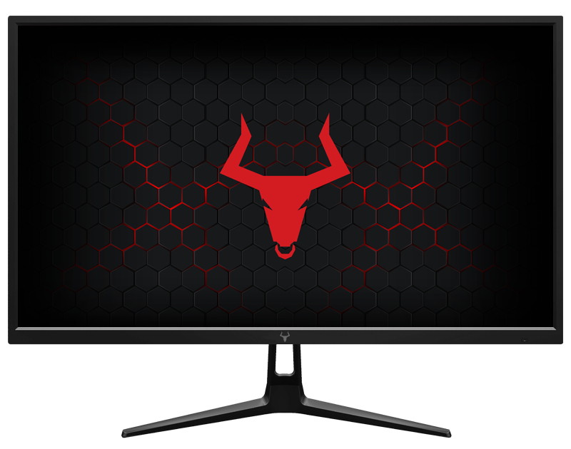 "Monitor TAURUS GGF - 24"" FLAT, 1920x1080, TN, 240Hz, 16:9, 1ms OD, 2xHDMI, DP, USB, Speaker, HDR, G-Sync, FreeSync"