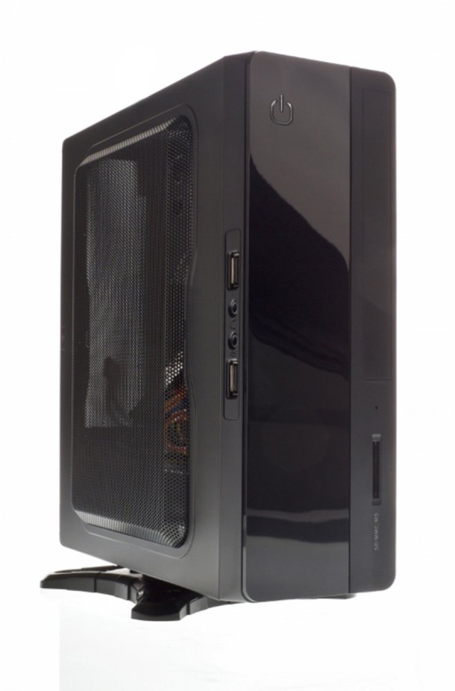 Case SPIRIT Mini ITX - 130W PSU, Card Reader, 2xUSB3, Vesa