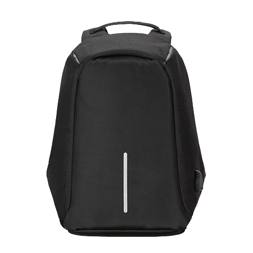 "Zaino per Notebook 15.6"" -  Tessuto anti graffio, waterproof, anti borseggio, presa USB, Nero Nero"