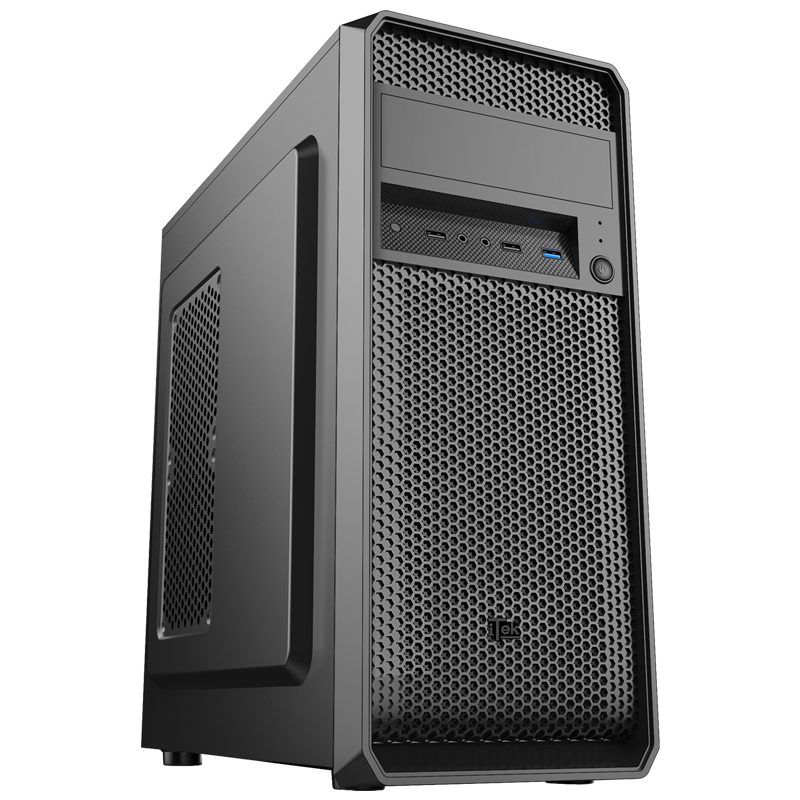 Case PRIME Dark - Middle Tower, ATX, 500W, USB3.0, 12cm fan