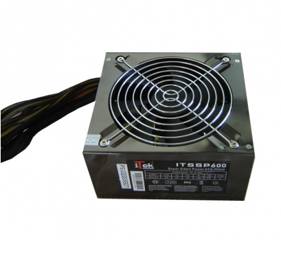 Super Silent Power 600W  -  14cm, 4xSata, 4x4pin, 1pcie, 1fdd