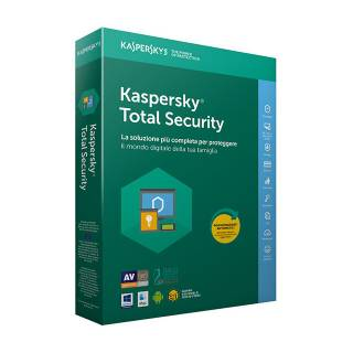 Kaspersky Total Security 2018 Licenza per 2 Dispositivi per 1 Anno Versione 20 Anniversario